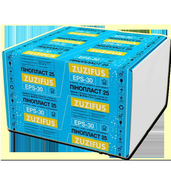 Плиты полистирольные ZUZIFUS EPS-30