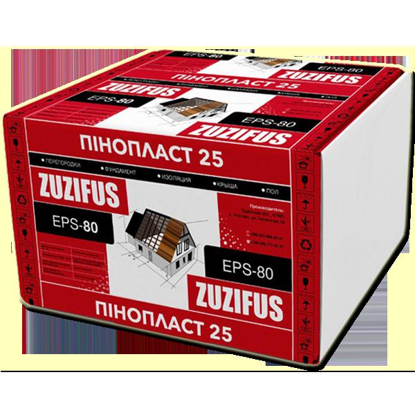 Плиты полистирольные ZUZIFUS EPS-80